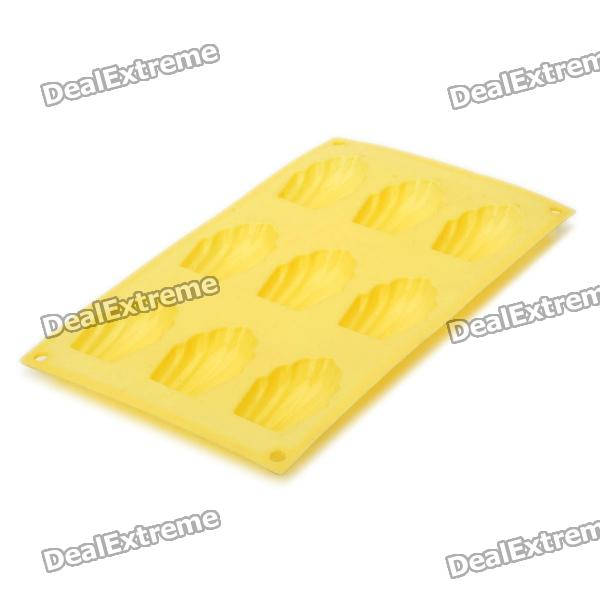 9-Shells Style Silicone DIY Mold for Cake and More - Beige кольца