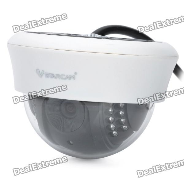 VSTARCAM H6812IP H.264 PNP Indoor IP Network Camera w/ 22-LED Night Vision / IR-CUT - White