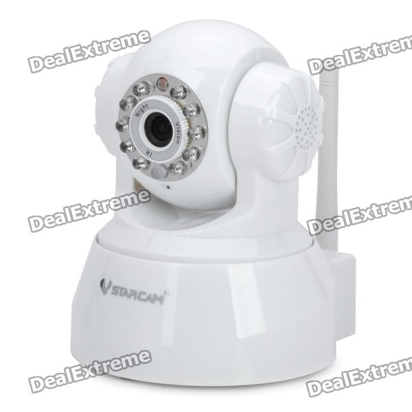 VSTARCAM F6836W PTZ Indoor Wireless IP Network Camera with 10-LED IR Night Vision - White