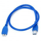 USB 3.0 Super Speed A Male to Micro-B Male Data Cable (60CM-Length)