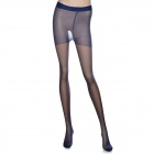 MAGICUTE Imprinted Geometry Phantom Pantyhose - Royal-Blue