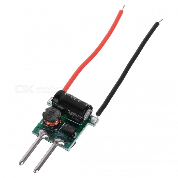 MR16 1*3W 650~700mA Constant Current Regulated LED Driver (8~24V Input)