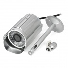 300KP CMOS Surveillance Security IP Network Camera with 36-LED IR Night Vision - Silvery
