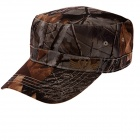 Fashion Flat Top Hat Cap for Men - Deep Brown