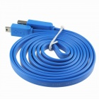 High Speed ​​Mini de 5 pines a USB 2.0 Macho - Azul (150 cm-Cable Length)