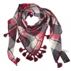 Fashion Plaid Cotton Scarf Shawl (95 x 205cm)