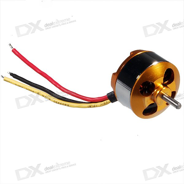 A2208 1800kv electric motor for r c airplanes free for Model aircraft electric motors