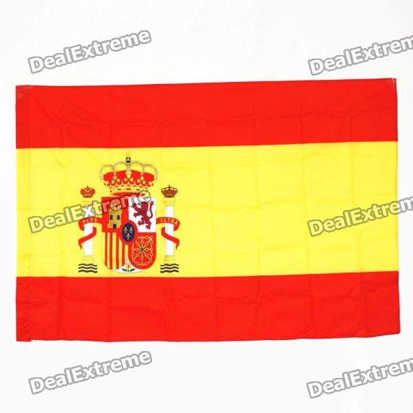 Oxford Fabric Spain National Flag - Red + Yellow (150 x 70cm)