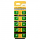 AG0 / LR63 1.55V Alkaline Cell Button Batteries (10-Piece Pack)