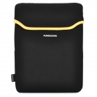 Neoprene Soft Sleeve Waterproof Bag Case for   Ipad 2 / The New Ipad - Black + Yellow