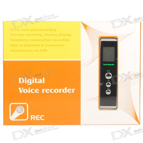 HNSAT 956A Phone/Interview Voice Recorder with MP3 Player (256MB)