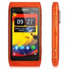 "Nokia N8 Symbian^3 WCDMA Smartphone w/ 3.5"" Capacitive, GPS, 12MP Camera and Wi-Fi - Orange (16GB)"