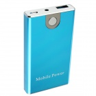 Portable 3300mAh Mobile External Power Battery Pack w/ Adapters - Blue