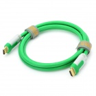 Fujicables HDMI 1.4 Male to Male Connection Cable - Green (150cm)