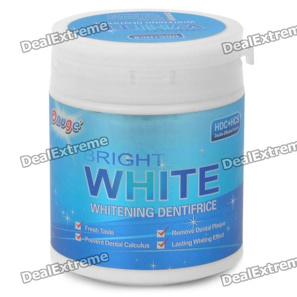 Onuge Bright Teeth Whitening Powder - Blue (100g ) 2016 new arrival 1pieces dental standard teaching model with removable teeth