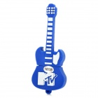 Neuheit Silikon Guitar Style USB 2.0 Flash Drive - Blue (16GB)