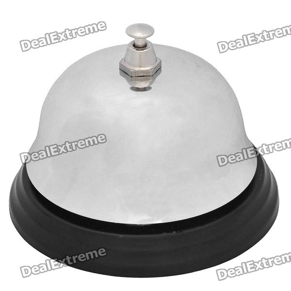 Stainless Steel Desktop Call Bell - SilverKitchen Gadgets<br>Model ZHLD Quantity 1 piece(s) per pack Color Silver Material Stainless steel Other Features Offers a clear tone; Great for getting peoples attention in school rooms hotels stores and restaurants etc. Packing List 1 x Call bell<br>