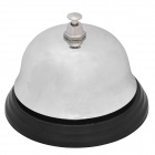 Stainless Steel Desktop Call Bell - Silver