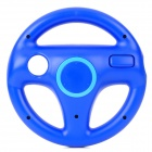 Plastic Racing Wheel Controller for Wii - Dark Blue