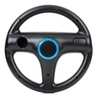 Plastic Racing Wheel Controller for Wii - Black