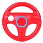 Plastic Racing Wheel Controller for Wii - Red