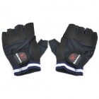 Outdoor Sports Palm Protection Gloves - Black (Pair)