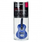 Novelty Silicone Guitar Style USB 2.0 Flash Drive - Blue (16GB)