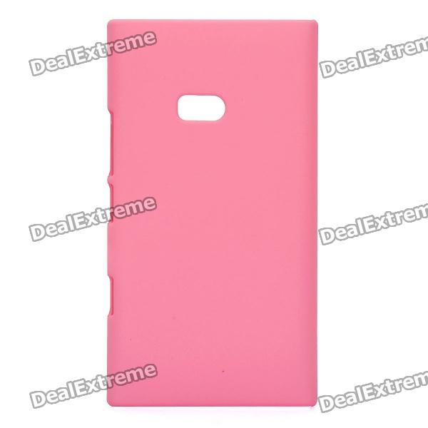Фото Matte Protective PVC Back Case for Nokia Lumia 900 - Pink universal removable bluetooth keyboard folio case cover for nokia lumia 2520 10 1 hp slate 10 hd 3500 3600 elitepad 900 g1 1000