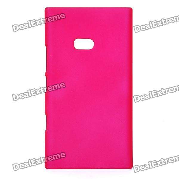 Фото Matte Protective PVC Back Case for Nokia Lumia 900 - Deep Pink universal removable bluetooth keyboard folio case cover for nokia lumia 2520 10 1 hp slate 10 hd 3500 3600 elitepad 900 g1 1000