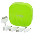 OMIG600 Rechargeable 6000mAh External Battery Charger for Cell Phone + More - Green