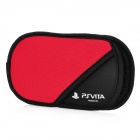 Soft Protective Cotton Sleeve Pouch Bag for Sony PS Vita - Red