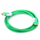 FUJICABLES HDMI V1.4 Male to Male Connection Cable - Green (150cm)