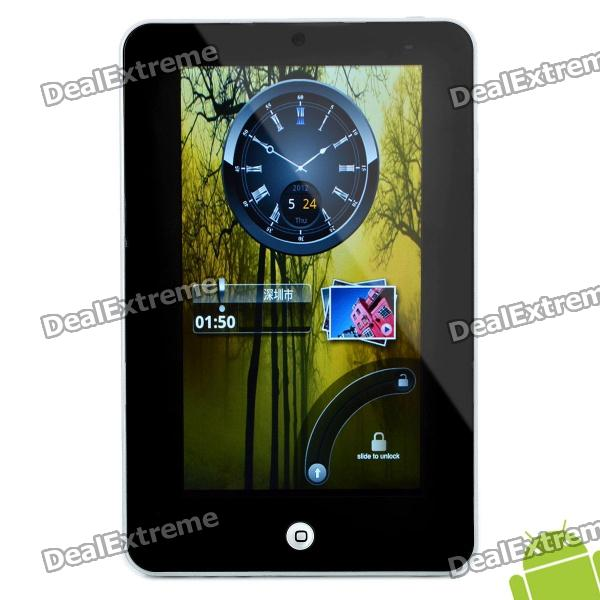 """7"""" Resistive Screen Android 2.2 Tablet w/ G-Sensor / Camera / WiFi / External 3G - Silver"""
