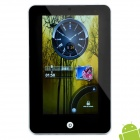 "7 ""Resistive-Screen Android 2.2 Tablet W / G-Sensor / Kamera / WiFi / External 3G - Silber"
