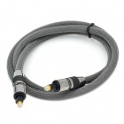 Digital Audio Optical Fiber Toslink Cable - Black (100cm)