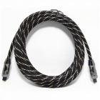 Digital Audio Optical Fiber Toslink Cable - Black (300cm)