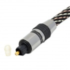 Digital Audio Optical Fiber Toslink Cable - Black (500cm)