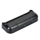 PE Charging Cradle Docking Station + USB Cable for HTC One X / S720e - Black