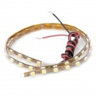 6.5W 405LM 45x3528 SMD LED White Light Flexible Strip - Yellow (12V)