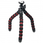 Universal Soft Sponge Flexible Tripod - Black + Red