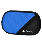 Soft Protective Cotton Sleeve Pouch Bag for Sony PS Vita - Blue