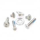 Full Replacement Screw Set with O-ring for   Iphone 4