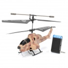 iOS/Android IR Controlled Rechargeable 3.5-CH Missile Launching R/C Helicopter w/ Gyroscope