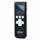 Cenlux C80 1.0&quot; LCD Digital Voice Recorder w/ MP3 Player Function - Black (4GB / 2 x AAA)