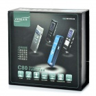 "Cenlux C80 1.0"" LCD Digital Voice Recorder w/ MP3 Player Function - Black (4GB / 2 x AAA)"