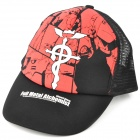 Cool Outdoor Full Metal Alchemist Pattern Cap Hat