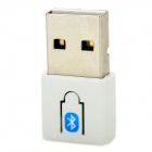 BD-401 Mini Bluetooth V4.0 USB Dongle - White