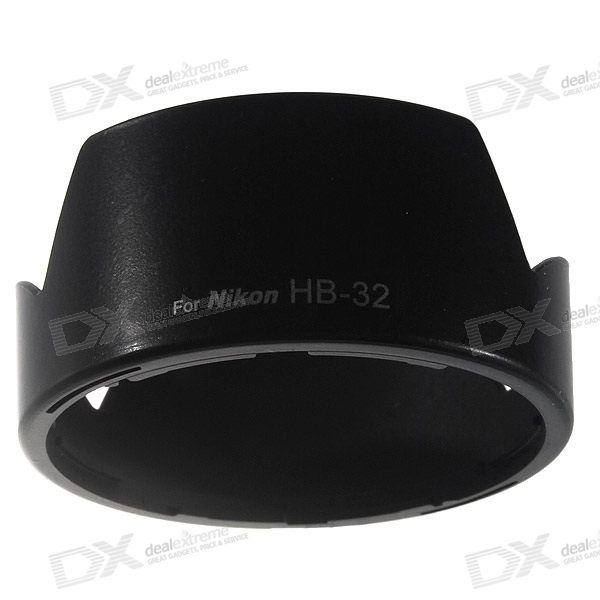 LV*SHI Camera Lens Hood for Nikon AF-SDX18-70mm f/3.5-4.5 GIF-ED