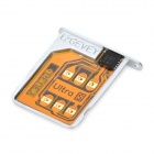 Designer's SIM Card Unlock with SIM Card Tray Holder for iPhone 4S 5.1 / 5.0.1 / 5.0