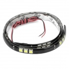 7.2W 600LM 30x5050 SMD LED White Light Flexible Strip for Car (DC 12V / 30cm)